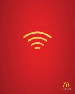 McDonalds' Minimalist Wi-Fi