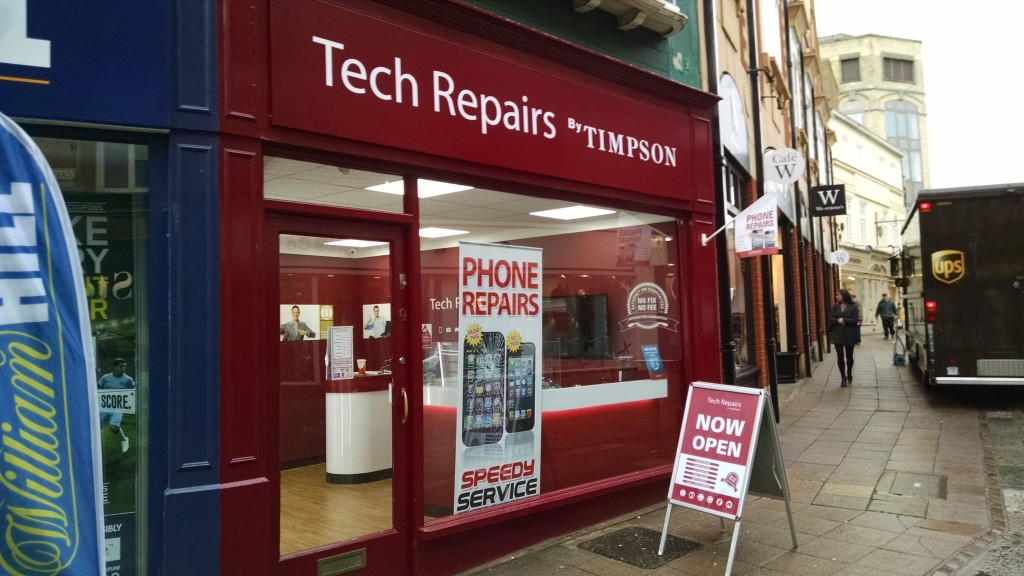 Timpson's phone repair services
