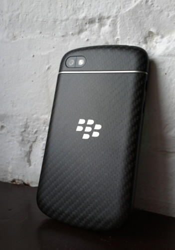 Blackberry Q10 rear view