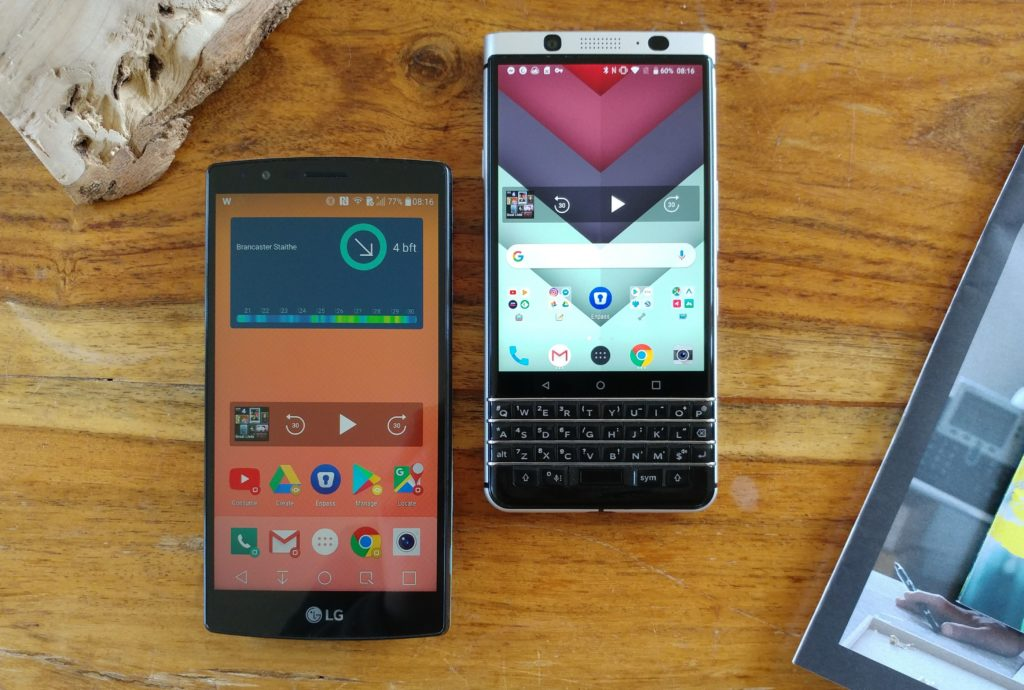 Trusty tools: 3 days, 750 photos and 10,000 words on a Blackberry KeyONE and LG G4