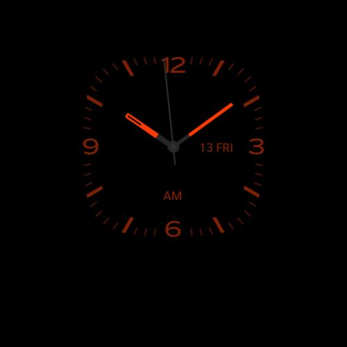 Night clock on Blackberry 10