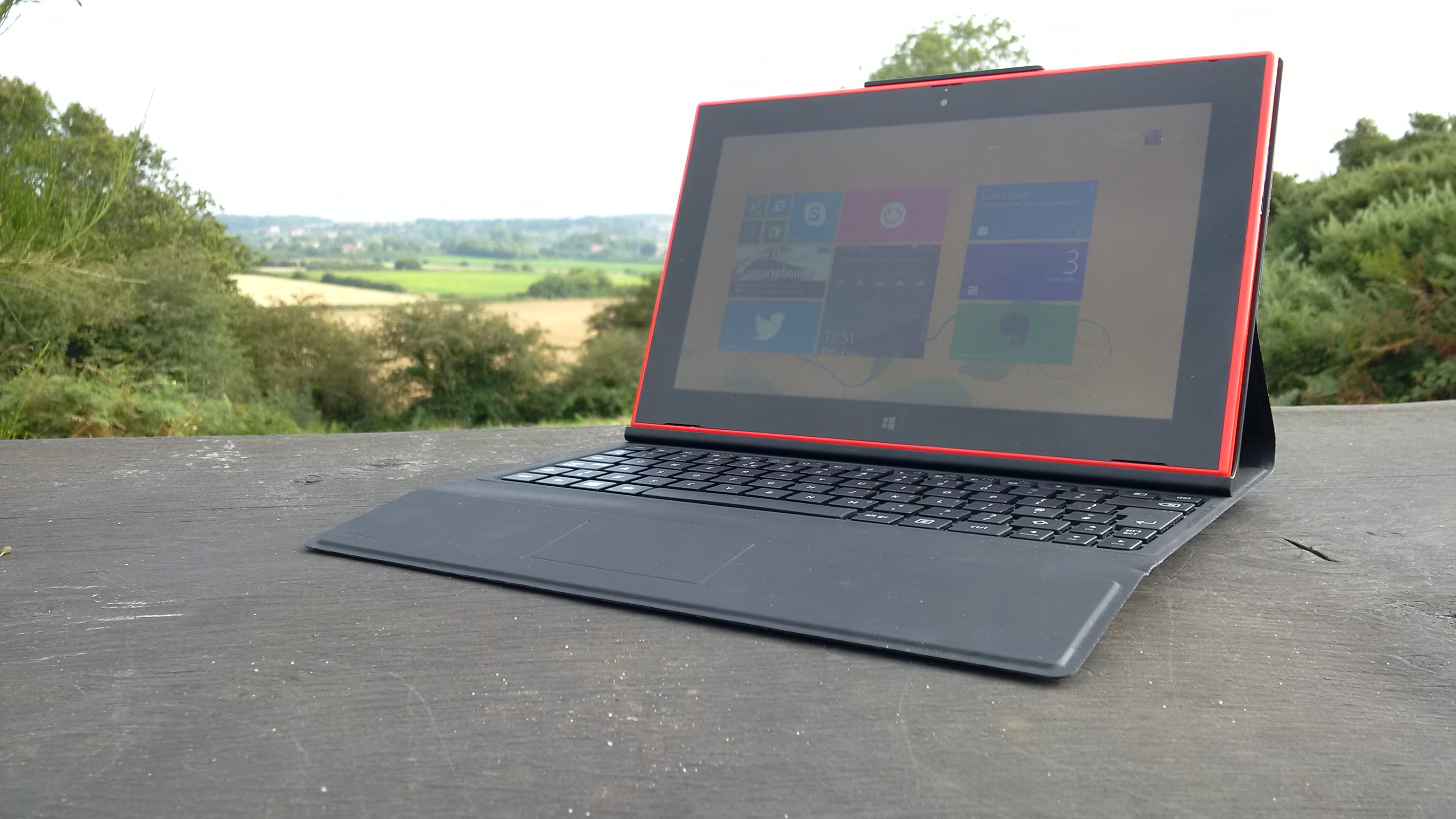 Working rural & remote with the Lumia 2520