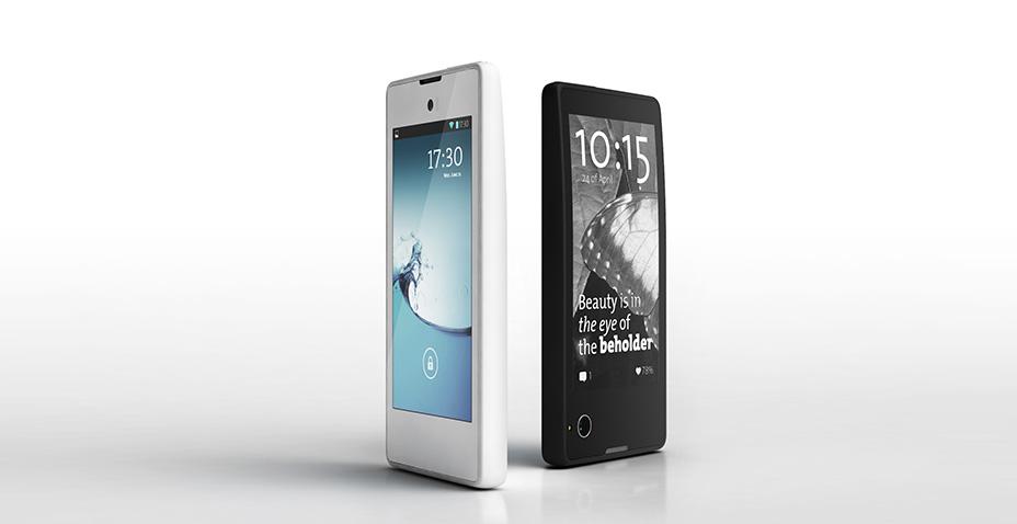 YotaPhone's dual screen experience
