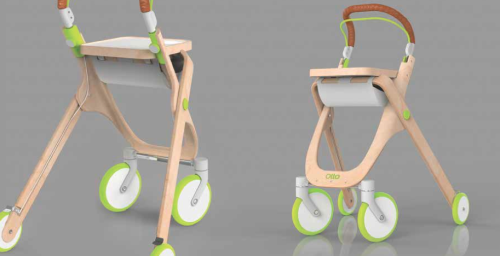 Ben Clarke's mobility aid design at Made in Brunel