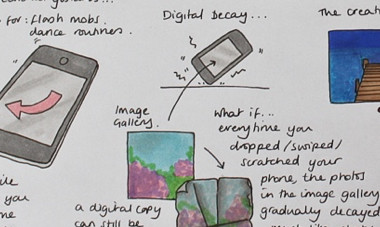 Inspiring new forms of creative expression through mobile devices