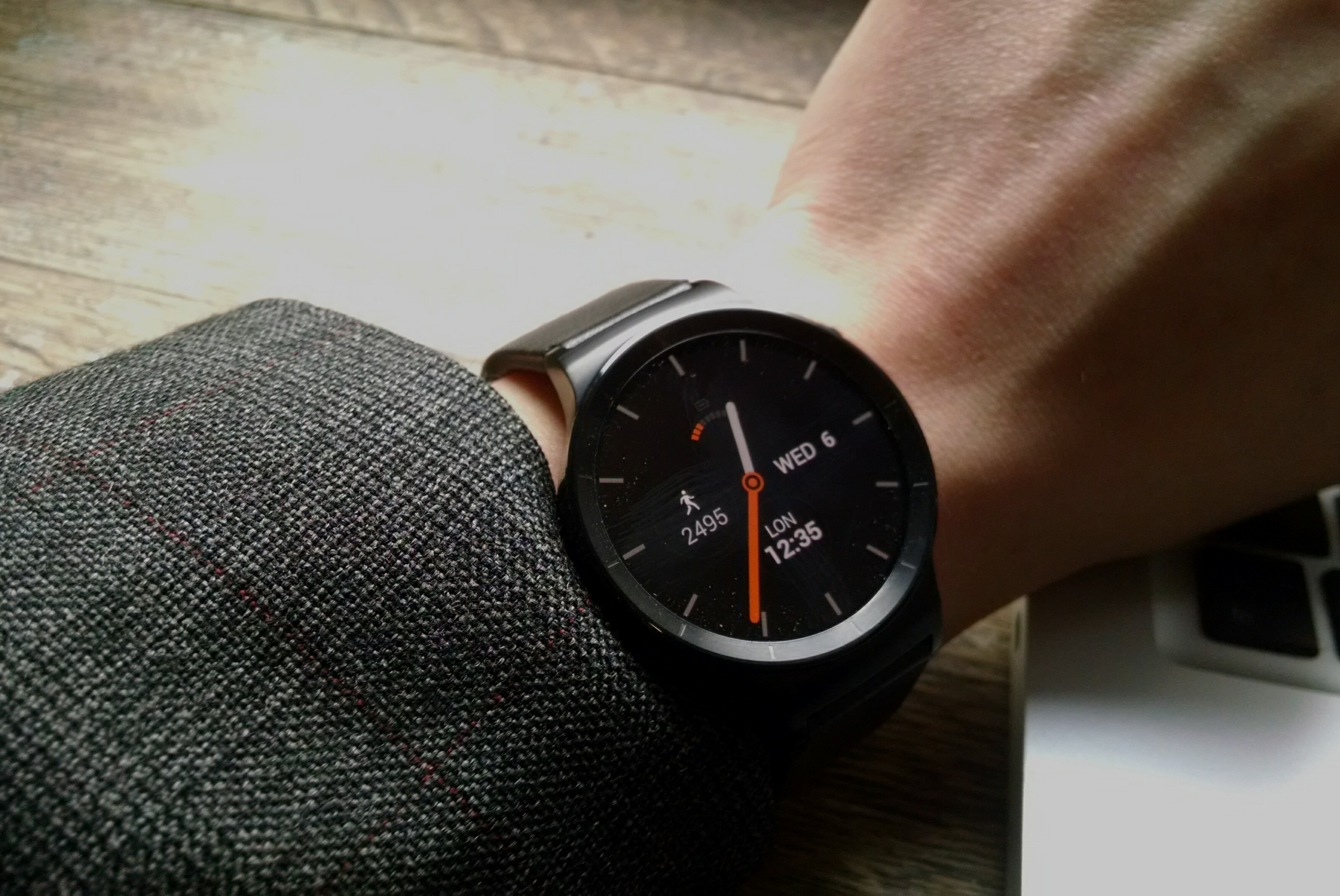 Huawei Watch review: on wrist