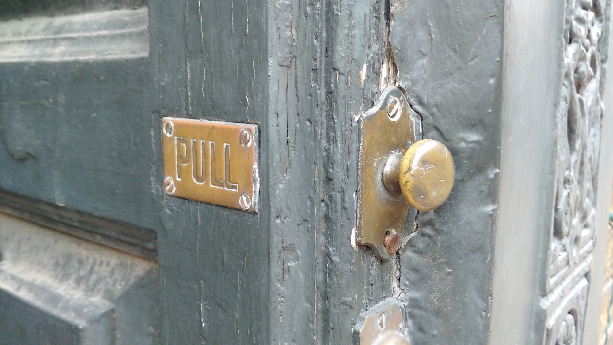 London doorbell and pull