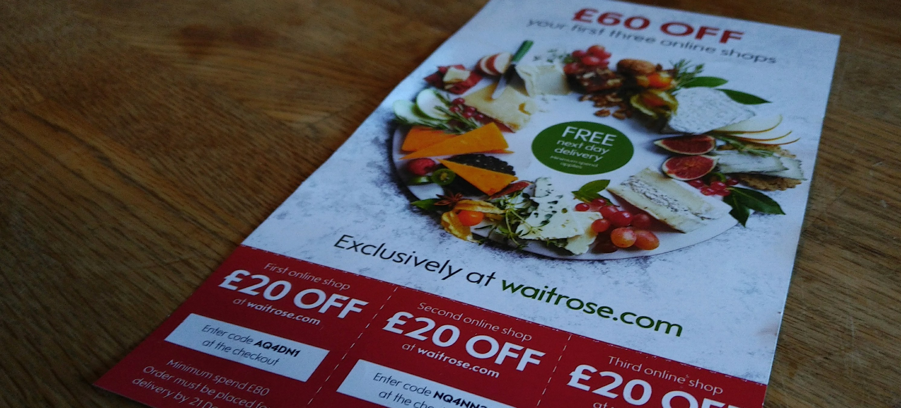 Waitrose Christmas offers