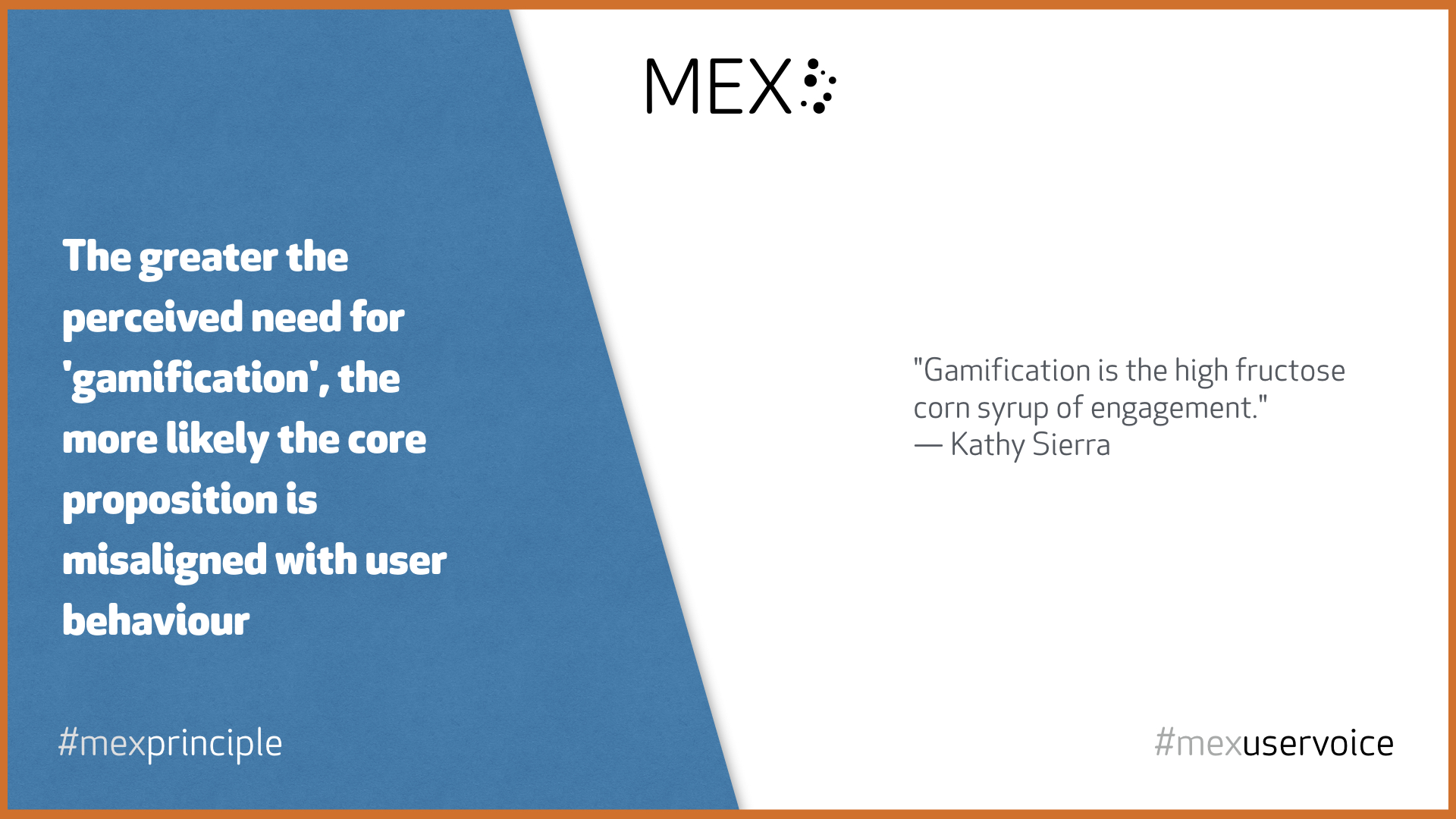 The greater the perceived need for 'gamification', the more likely the core proposition is misaligned with user behaviour