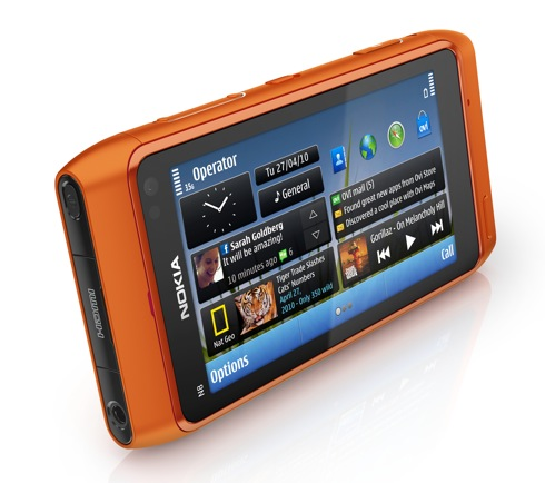 Nokia N8 in orange