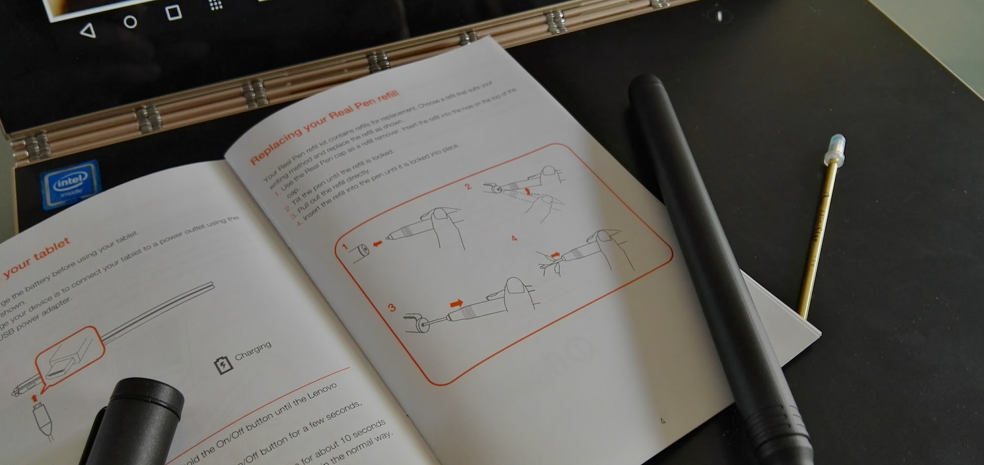 Explaining the Lenovo Yoga Book's hybrid stylus system