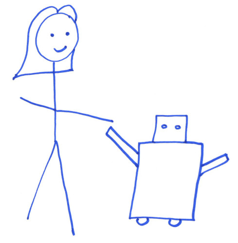 Robot UX principle: play nicely with others