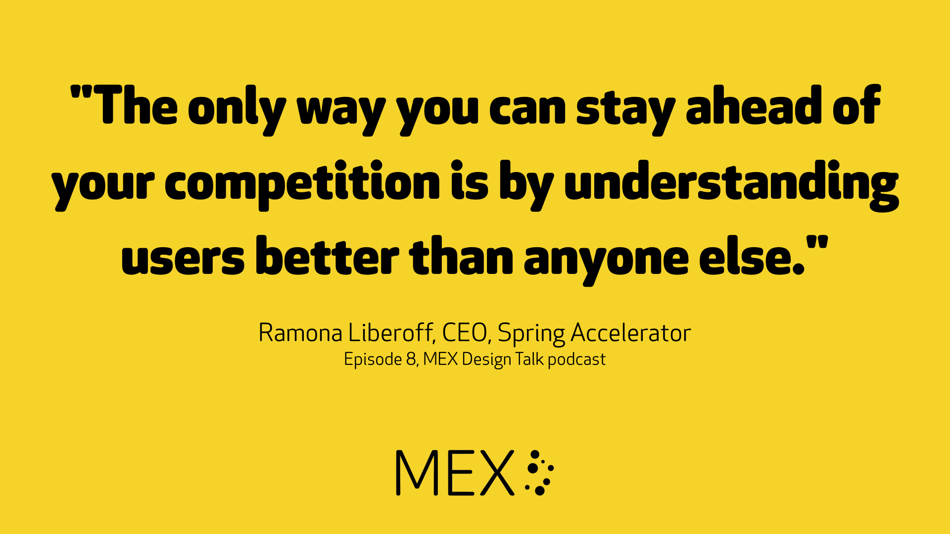 Ramona Liberoff on the MEX Design Talk podcast