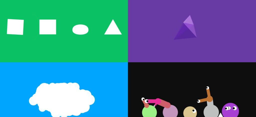 Sennep's playful exploration of digital design materials