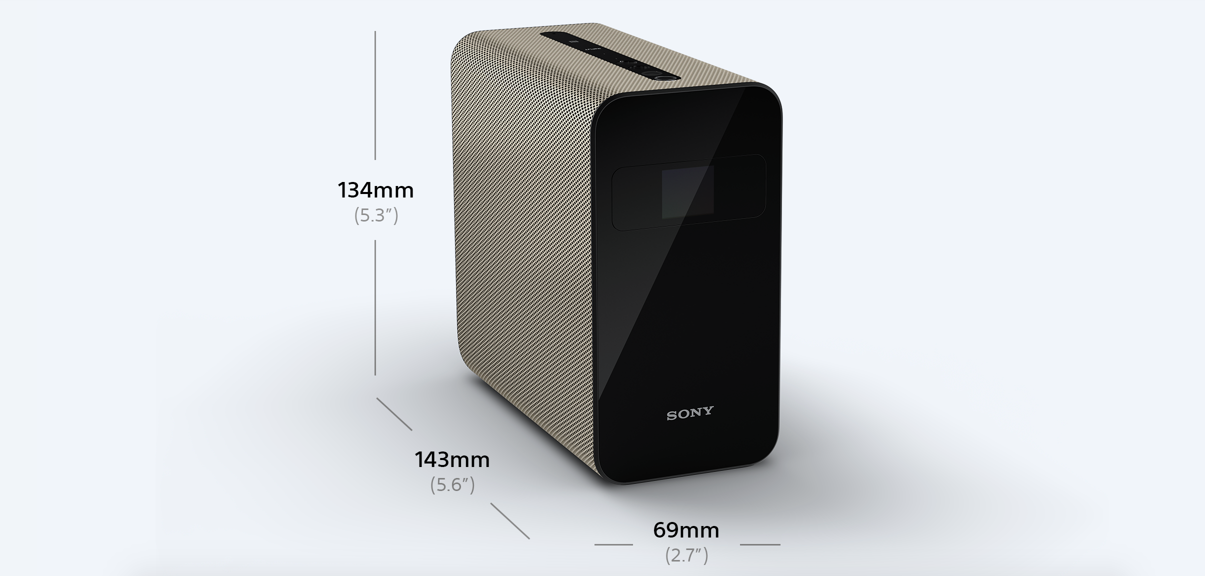 Sony Xperia Touch with dimensions