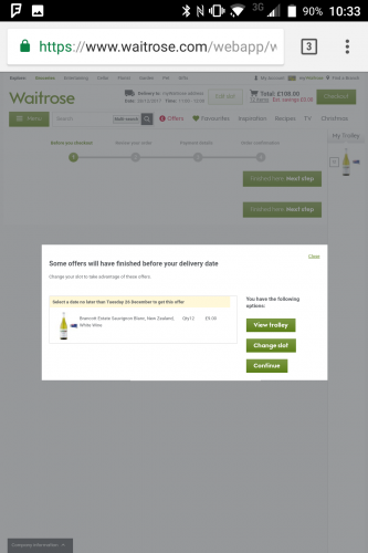 Offer expired on Waitrose.com