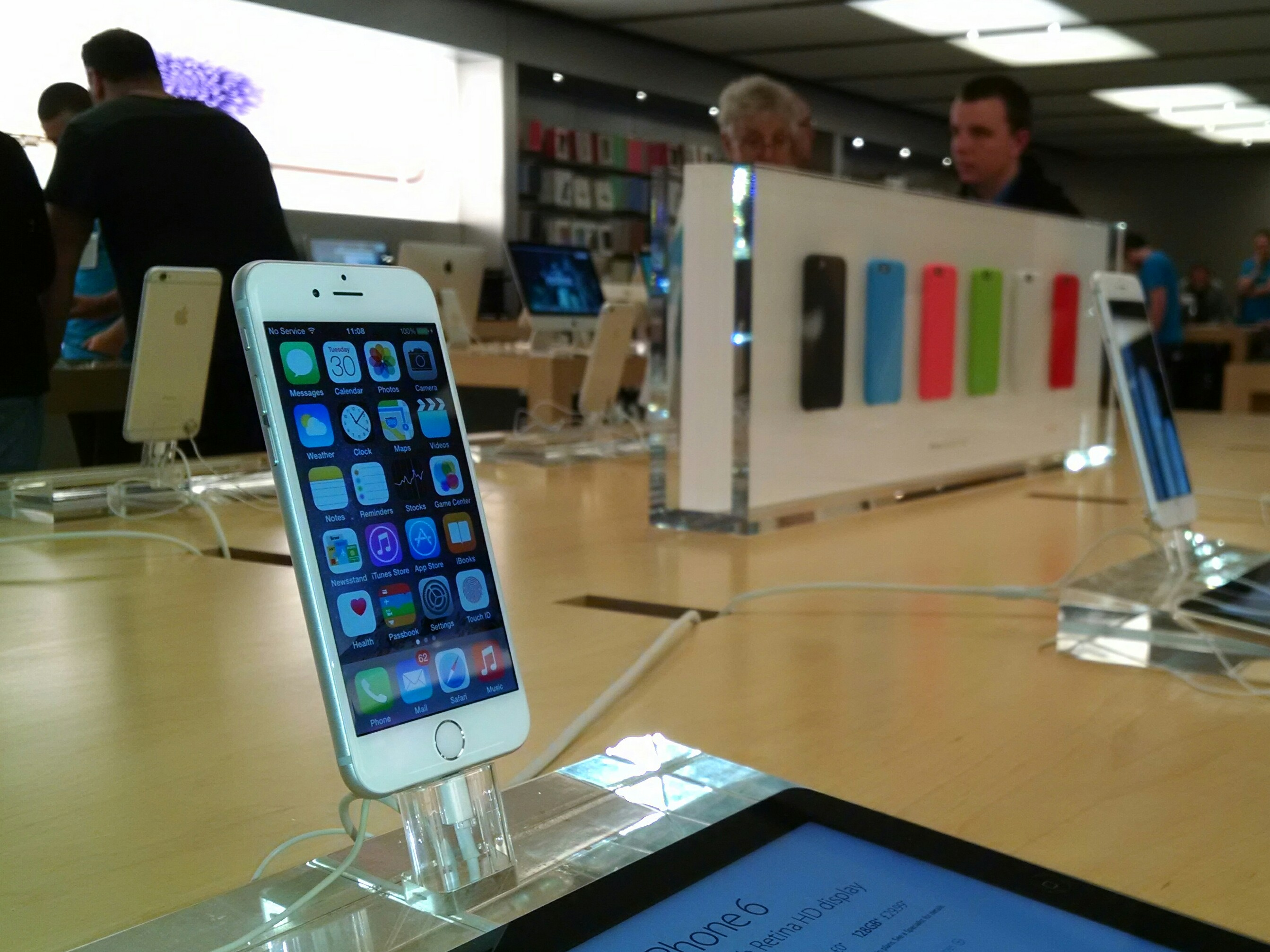 Applying a real world lens to iPhone 6